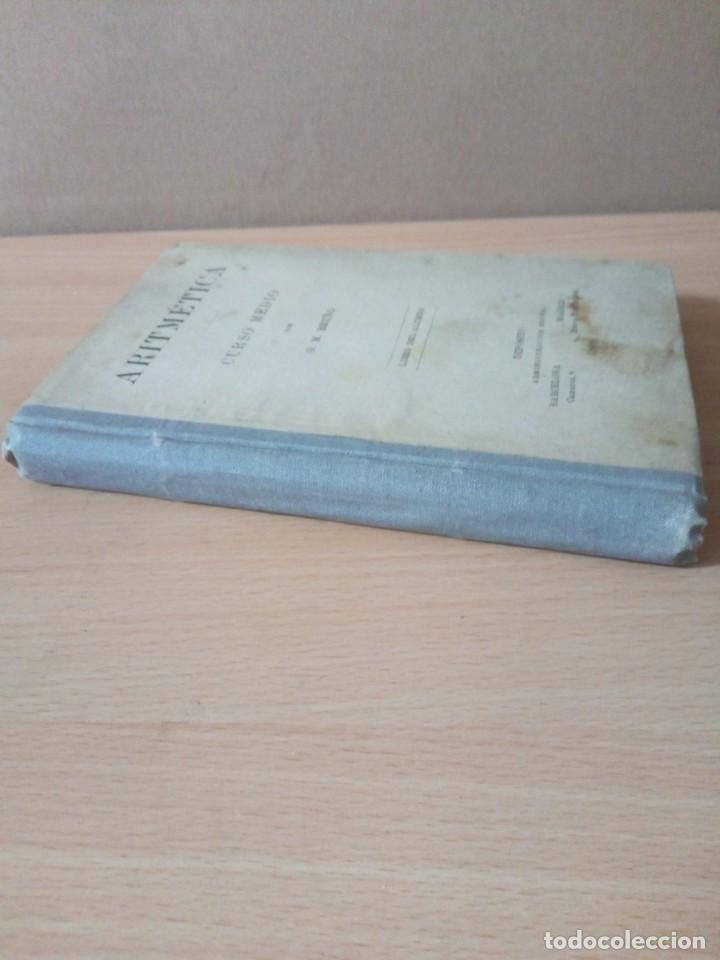 Libros antiguos: ARITMETICA-CURSO MEDIO DE G.M.BRUÑO 1908 - Foto 10 - 191592028
