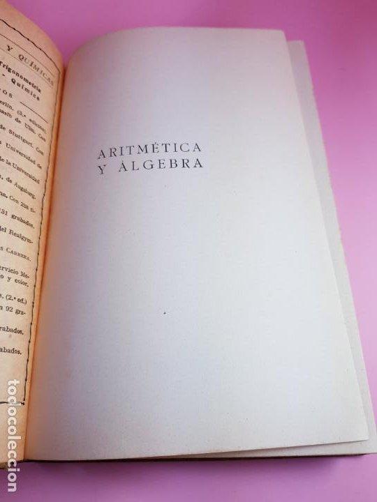 Libros antiguos: LIBRO-ARITMÉTICA Y ALGEBRA-PROF.PAUL CRANTZ-TERCERA EDICIÓN-1932-EXCELENTE-VER FOTOS - Foto 7 - 191598652