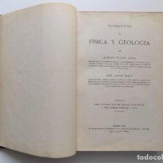 Libros antiguos: LIBRERIA GHOTICA. INCLÁN LOPEZ. ELEMENTOS DE FÍSICA Y GEOLOGIA. 1924.FOLIO. ILUSTRADO.. Lote 192740602