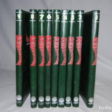Livres anciens: ENCICLOPEDIA DE DINOSAURIOS PLANETA AGOSTINI 9 TOMOS ENCUADERNADOS RARO. Lote 193235956