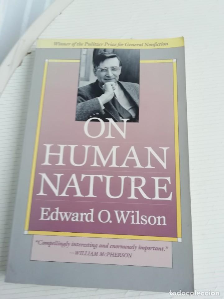 ON HUMAN NATURE, INGLÉS EDWARD O. WILSON (Libros Antiguos, Raros y Curiosos - Ciencias, Manuales y Oficios - Bilogía y Botánica)