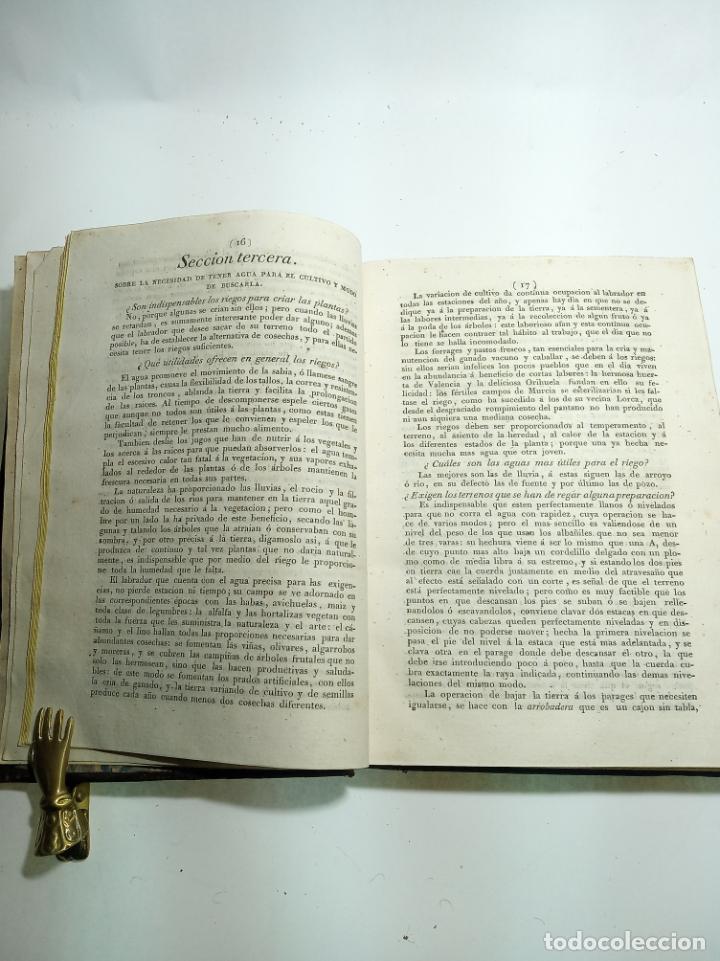 Libros antiguos: Cartilla agraria o sea de la práctica de la agricultura y la ganadería. Coronel D. José Espinosa. 18 - Foto 5 - 193706242