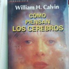 Libros antiguos: COMO PIENSAN LOS CEREBROS. Lote 193783832