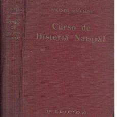 Libros antiguos: SALUSTIO ALVARADO : CURSO DE HISTORIA NATURAL - BIOLOGÍA Y GEOLOGÍA (1934). Lote 194135896