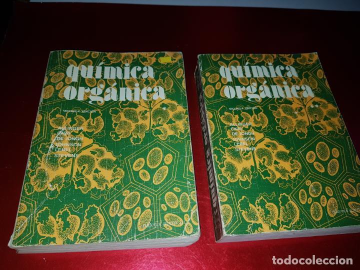 Libros antiguos: LOTE 2 LIBROS-QUÍMICA ORGÁNICA I+II-2ªEDICIÓN-ED.REVERTÉ S.A.-ALLINGER/CAVA/JOHNSON - Foto 3 - 190561527