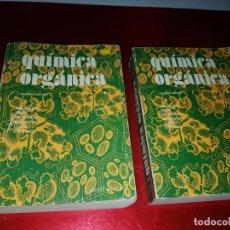 Libros antiguos: LOTE 2 LIBROS-QUÍMICA ORGÁNICA I+II-2ªEDICIÓN-ED.REVERTÉ S.A.-ALLINGER/CAVA/JOHNSON. Lote 190561527