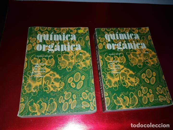Libros antiguos: LOTE 2 LIBROS-QUÍMICA ORGÁNICA I+II-2ªEDICIÓN-ED.REVERTÉ S.A.-ALLINGER/CAVA/JOHNSON - Foto 9 - 190561527