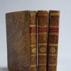 Libros antiguos: TRATADO ELEMENTAL O PRINCIPIOS DE FÍSICA - C. BRISSON - TOMOS II, III Y IV - MADRID 1803-1804. Lote 194385183