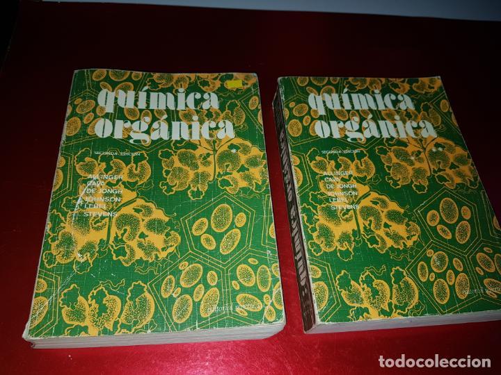 Libros antiguos: LOTE 2 LIBROS-QUÍMICA ORGÁNICA I+II-2ªEDICIÓN-ED.REVERTÉ S.A.-ALLINGER/CAVA/JOHNSON - Foto 21 - 190561527