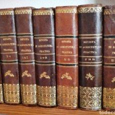 Libros antiguos: REVISTA DE AGRICULTURA PRÁCTICA,ECONOMÍA RURAL, HOTICULTURA Y JARDINERÍA 1859/1866. Lote 194078120