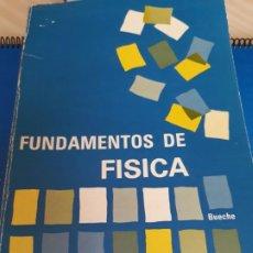Libros antiguos: FUNDAMENTOS DE FISICA. F. BUECHE. 1965.. Lote 194755366