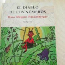 Libros antiguos: EL DIABLO DE LOS NÚMEROS. Lote 195070322