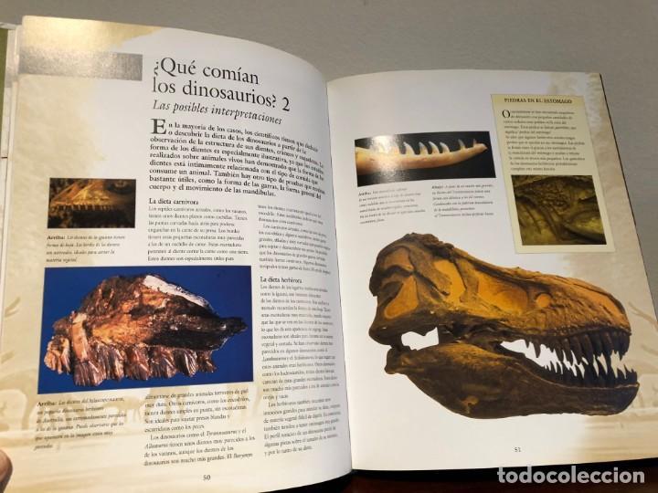Libros antiguos: Larousse de los Dinosaurios . Desde el inicio a la extinción. P. Barrett y José L. Sanz . SPES Edit. - Foto 2 - 195124471