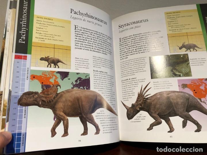 Libros antiguos: Larousse de los Dinosaurios . Desde el inicio a la extinción. P. Barrett y José L. Sanz . SPES Edit. - Foto 4 - 195124471
