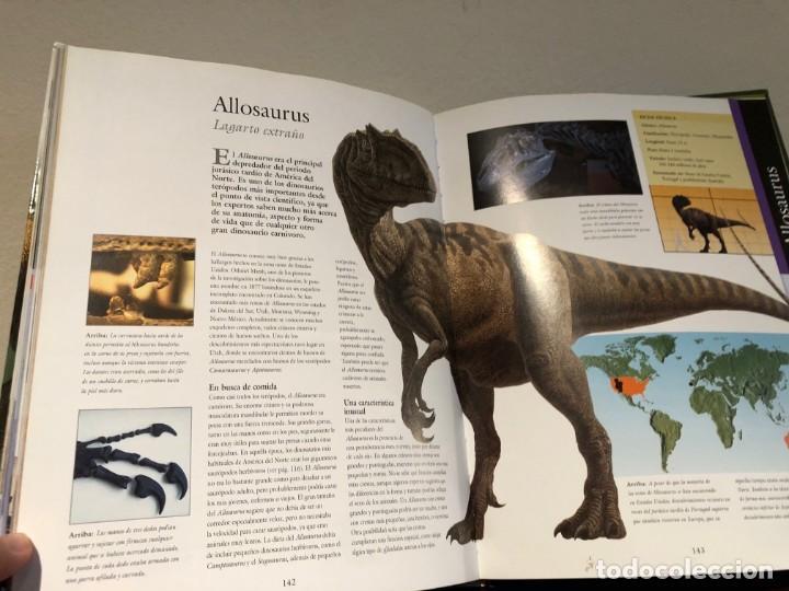 Libros antiguos: Larousse de los Dinosaurios . Desde el inicio a la extinción. P. Barrett y José L. Sanz . SPES Edit. - Foto 6 - 195124471
