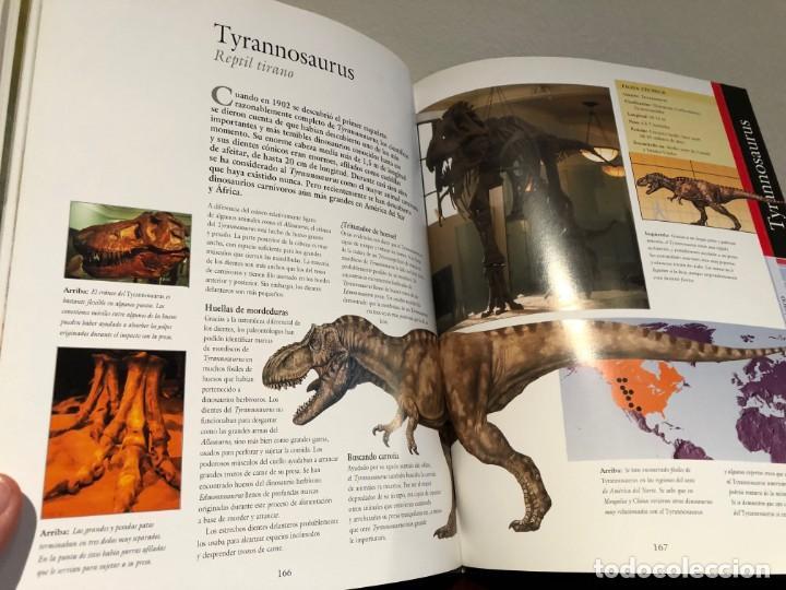 Libros antiguos: Larousse de los Dinosaurios . Desde el inicio a la extinción. P. Barrett y José L. Sanz . SPES Edit. - Foto 8 - 195124471