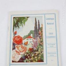 Libros antiguos: CATALOGUE GÉNÉRAL, PÉPINIÈRES LOUIS LENS, 1935 - 1936, SOCIÉTÉ ANONYME, BELGIQUE. 21X14CM. Lote 195184328