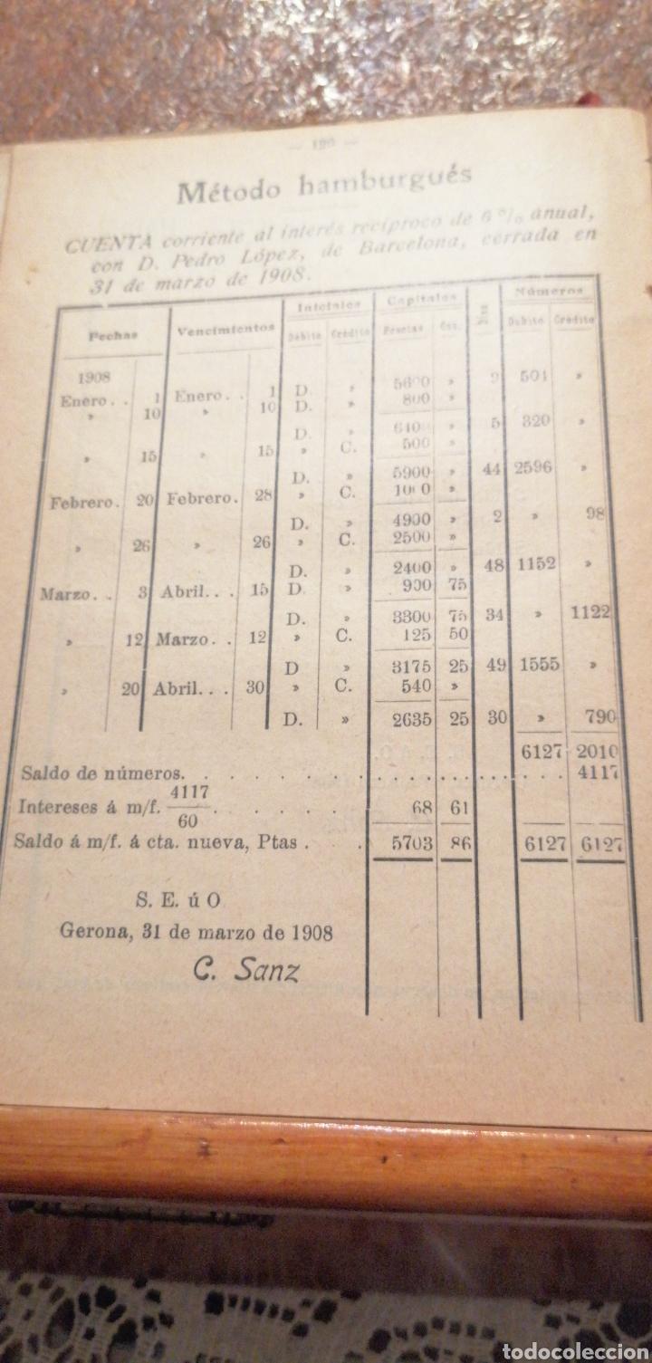 Libros antiguos: ANTIGUO LIBRO DEL 1911 LECCIONES DE ARITMÉTICA 2°PARTE - Foto 6 - 195225557