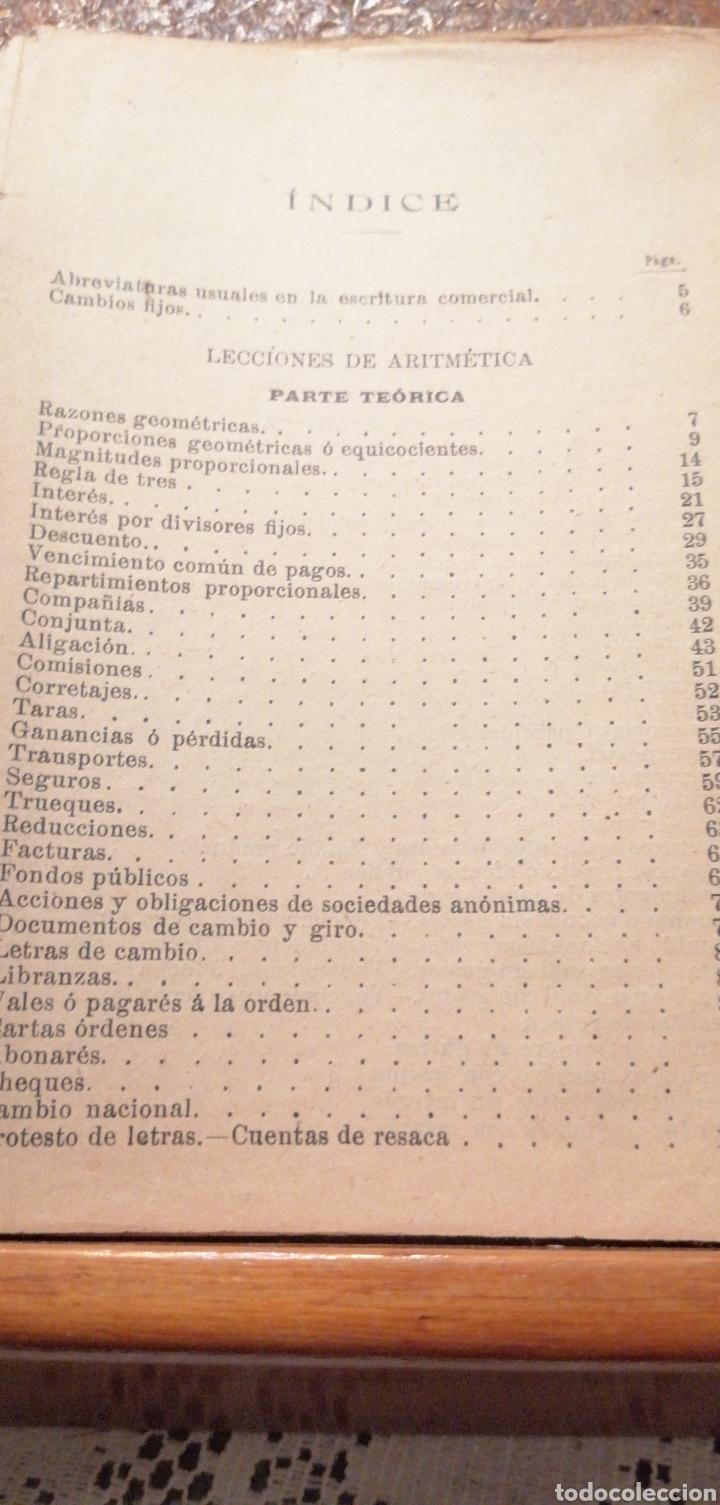 Libros antiguos: ANTIGUO LIBRO DEL 1911 LECCIONES DE ARITMÉTICA 2°PARTE - Foto 7 - 195225557