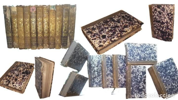 Libros antiguos: Latreille - Buffon. Histoire Naturelle Crustacés et Insectes. 11 vols. 81 grabados. Ver condiciones - Foto 2 - 195243116