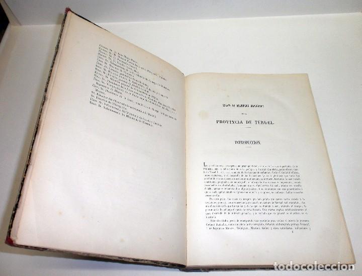 Libros antiguos: VILANOVA Y PIERA, Juan. Ensayo de Descripción Geognóstica de la Provincia de Teruel... 1863. - Foto 4 - 195280491