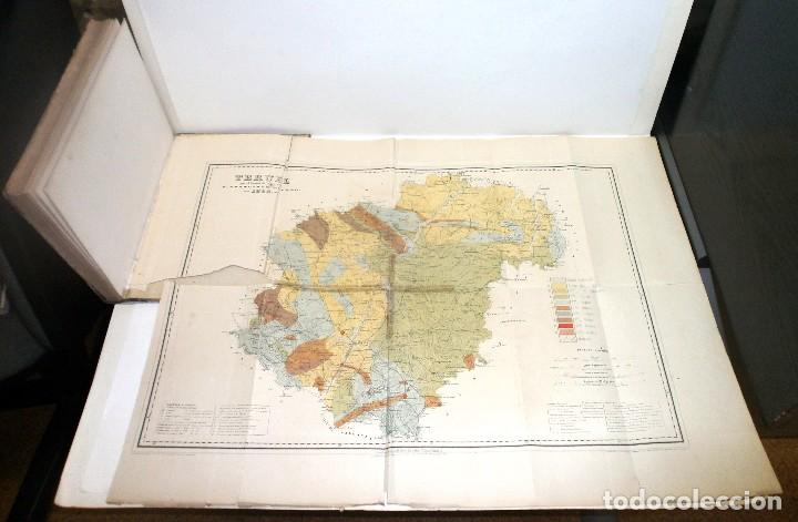 Libros antiguos: VILANOVA Y PIERA, Juan. Ensayo de Descripción Geognóstica de la Provincia de Teruel... 1863. - Foto 10 - 195280491