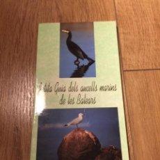 Libros antiguos: PETITA GUIA DELS AUCELLS MARINS DE LES BALEARS (GOVERN BALEAR). Lote 195354518
