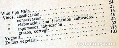 Libros antiguos: FORMULARIO PRÁCTICO DE AGRICULTURA Y SUS INDUSTRIAS - 2 TOMOS - J. POCH NOGUER 1929 - VER INDICES - Foto 7 - 195365765