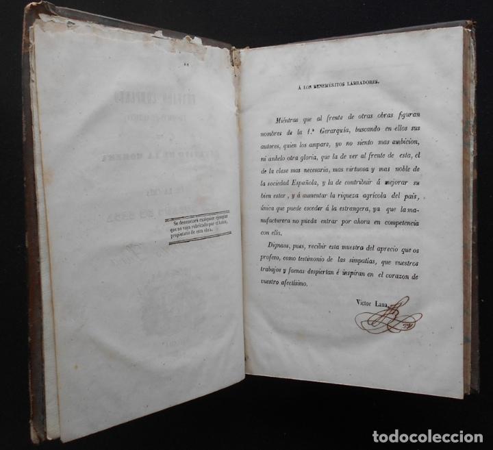 Libros antiguos: PCBROS - CULTIVO DE LA MORERA Y CRÍA GUSANO SEDA- VICTOR LANA -1847 IMP. LIT. EGAÑA - VITORIA - Foto 5 - 195385643