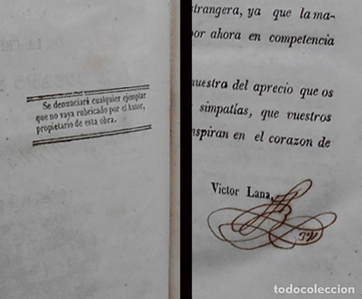 Libros antiguos: PCBROS - CULTIVO DE LA MORERA Y CRÍA GUSANO SEDA- VICTOR LANA -1847 IMP. LIT. EGAÑA - VITORIA - Foto 6 - 195385643