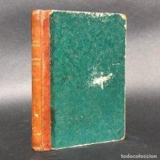 Libros antiguos: 1850 TRATADO DE ALGEBRA ELEMENTAL - BILBAO - MATEMÁTICAS - CORTAZAR, JUAN. Lote 195391920