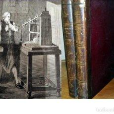 Libros antiguos: MARAVILLAS DE LA CIENCIA. INVENTOS CIENTÍFICOS. 2 VOLUMINOSOS TOMOS ILUSTRADOS DE 29 CM. VER TEMAS.. Lote 196124768