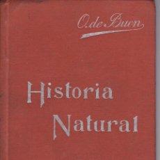 Libros antiguos: HISTORIA NATURAL, MANUAL SOLER II. Lote 196175885