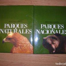 Libros antiguos: LIBRO CONOZCA ESPAÑA. PARQUES NATURALES. 2 TOMOS EN CAJA CONTENEDORA. Lote 197303911