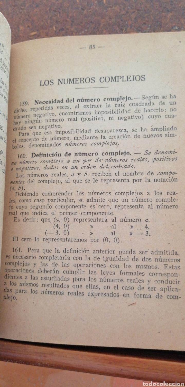 Libros antiguos: MATEMÁTICAS SEXTO CURSO DE BACHILLERATO - Foto 4 - 197639032