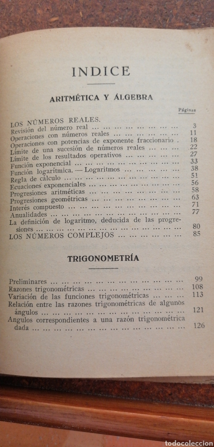 Libros antiguos: MATEMÁTICAS SEXTO CURSO DE BACHILLERATO - Foto 6 - 197639032