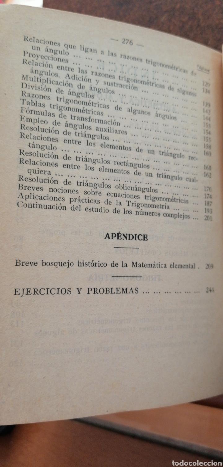 Libros antiguos: MATEMÁTICAS SEXTO CURSO DE BACHILLERATO - Foto 7 - 197639032