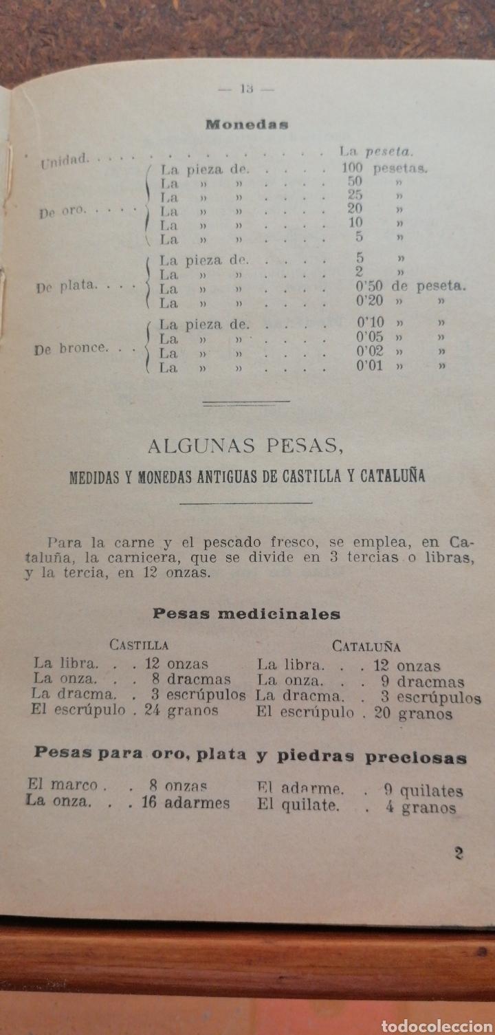 Libros antiguos: LECCIONES DE ARITMÉTICA GRADO SUPERIOR AÑO 1922 - Foto 3 - 197639502
