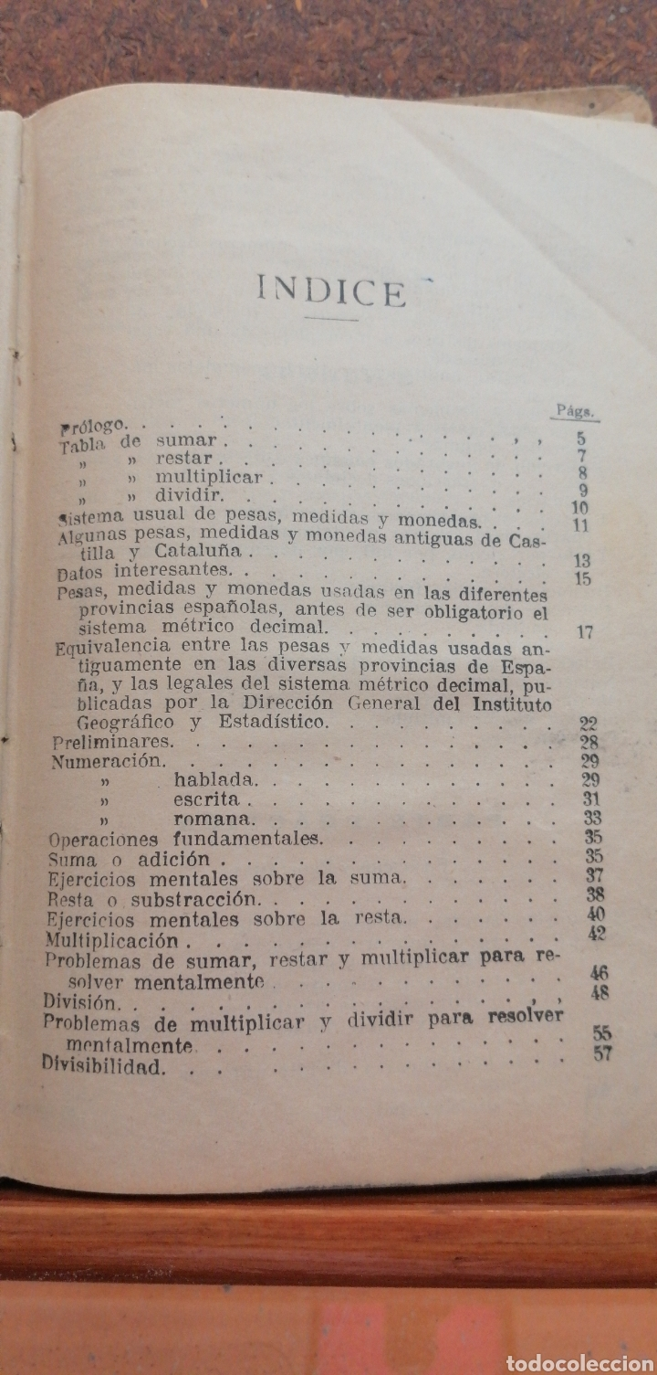 Libros antiguos: LECCIONES DE ARITMÉTICA GRADO SUPERIOR AÑO 1922 - Foto 5 - 197639502