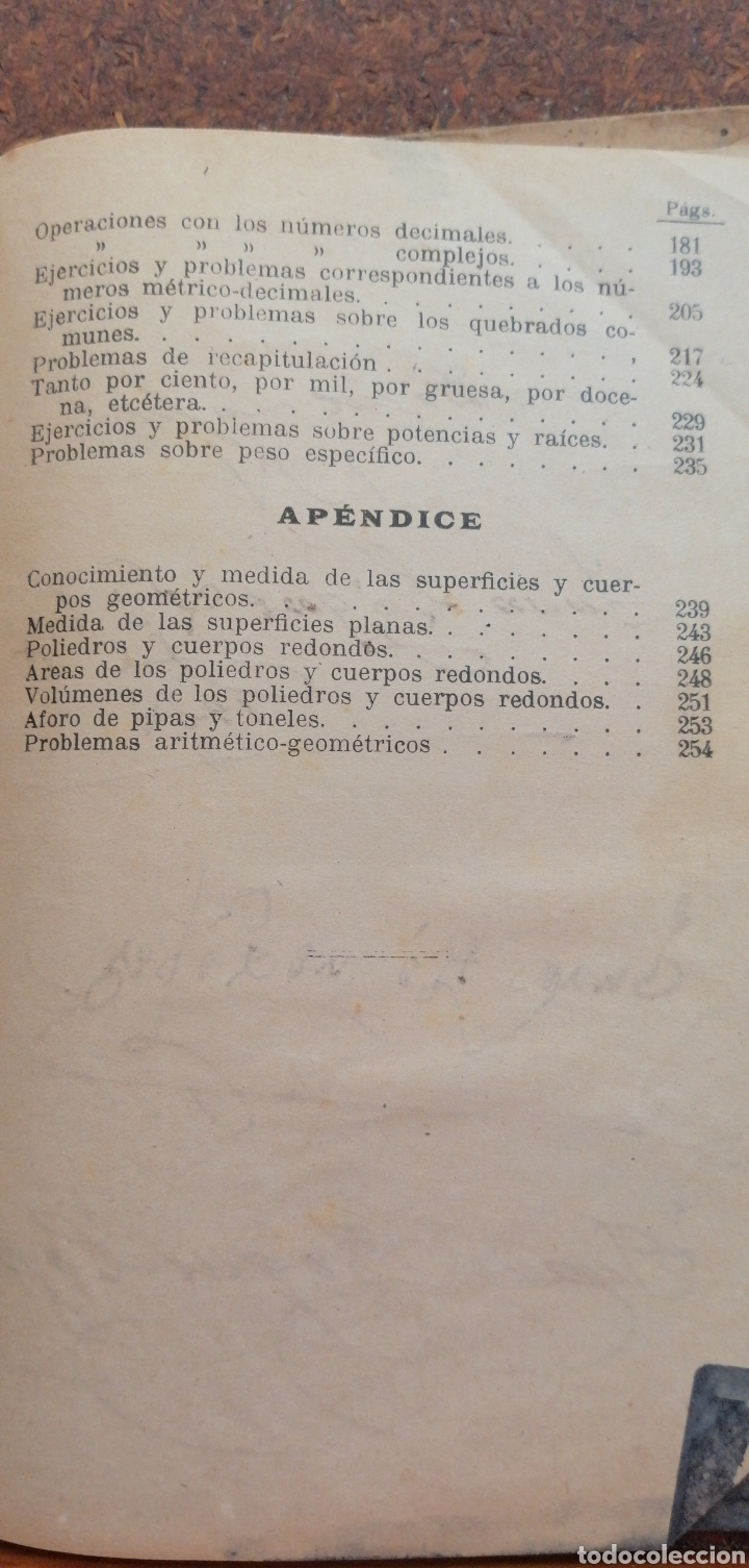 Libros antiguos: LECCIONES DE ARITMÉTICA GRADO SUPERIOR AÑO 1922 - Foto 7 - 197639502