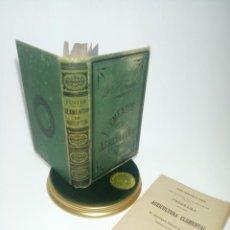 Libros antiguos: ELEMENTOS DE AGRICULTURA. DR. P. FUSTER. IMPRENTA DE MANUEL ALUFRE. VALENCIA. 1897.. Lote 198388142