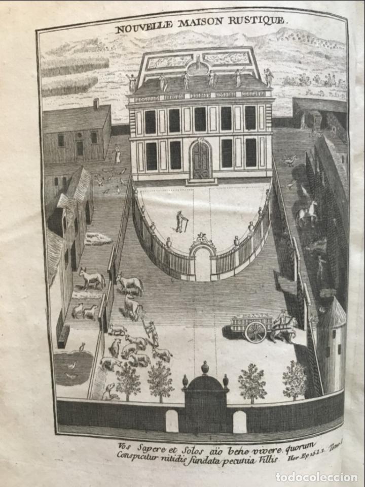 Libros antiguos: La nouvelle Maison rustique..., 2 tomos (IyII), 1790. L. Liger. Posee 41grabados y figuras - Foto 4 - 198399371