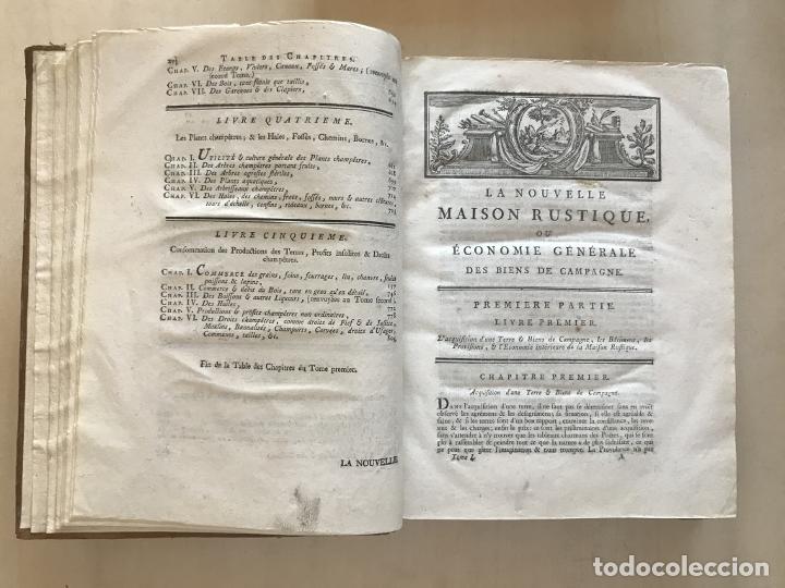 Libros antiguos: La nouvelle Maison rustique..., 2 tomos (IyII), 1790. L. Liger. Posee 41grabados y figuras - Foto 8 - 198399371