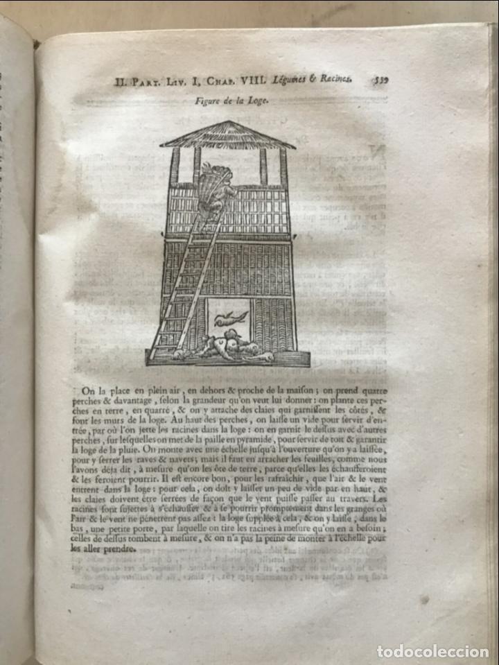 Libros antiguos: La nouvelle Maison rustique..., 2 tomos (IyII), 1790. L. Liger. Posee 41grabados y figuras - Foto 24 - 198399371