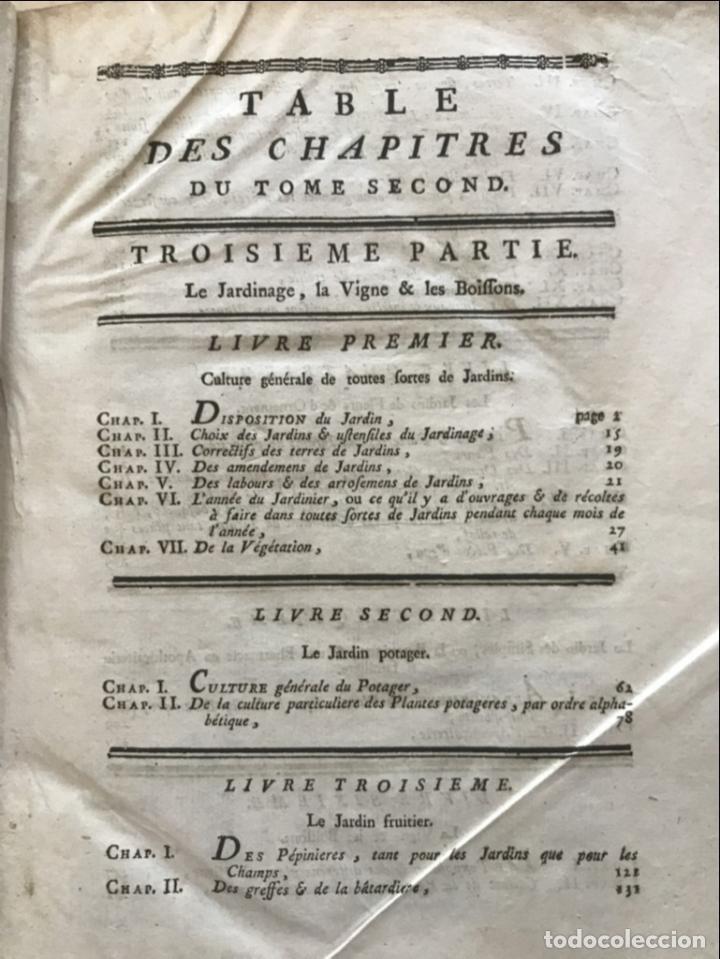 Libros antiguos: La nouvelle Maison rustique..., 2 tomos (IyII), 1790. L. Liger. Posee 41grabados y figuras - Foto 33 - 198399371