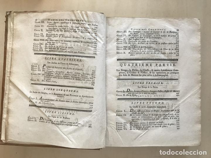 Libros antiguos: La nouvelle Maison rustique..., 2 tomos (IyII), 1790. L. Liger. Posee 41grabados y figuras - Foto 34 - 198399371