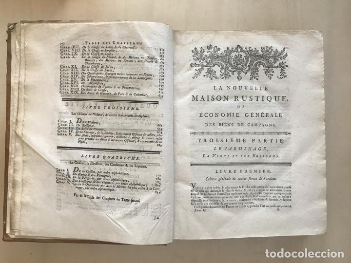 Libros antiguos: La nouvelle Maison rustique..., 2 tomos (IyII), 1790. L. Liger. Posee 41grabados y figuras - Foto 35 - 198399371