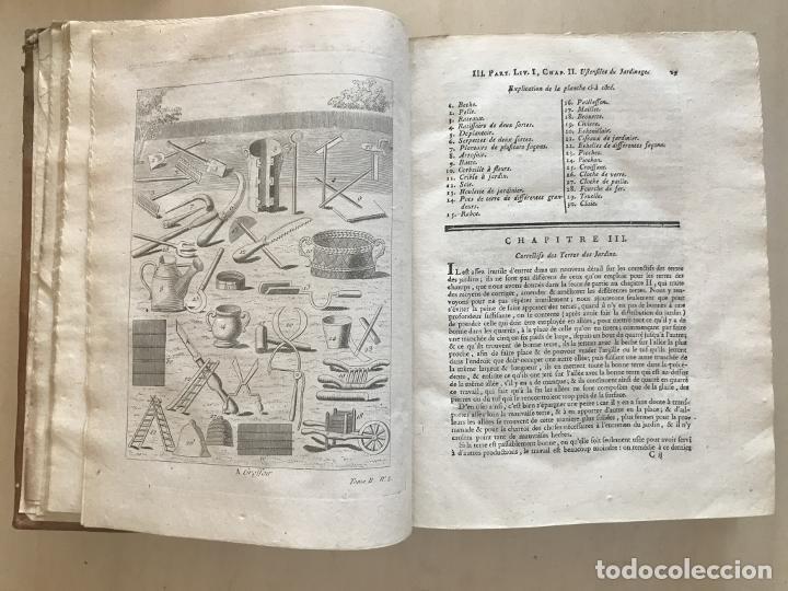 Libros antiguos: La nouvelle Maison rustique..., 2 tomos (IyII), 1790. L. Liger. Posee 41grabados y figuras - Foto 36 - 198399371