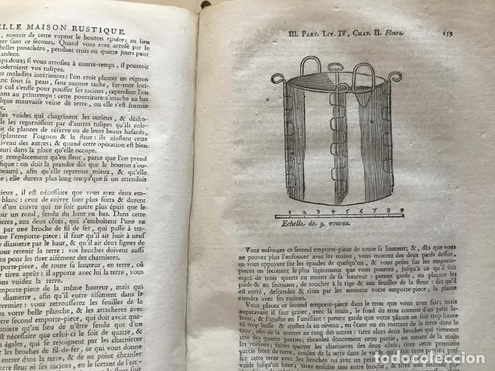 Libros antiguos: La nouvelle Maison rustique..., 2 tomos (IyII), 1790. L. Liger. Posee 41grabados y figuras - Foto 45 - 198399371