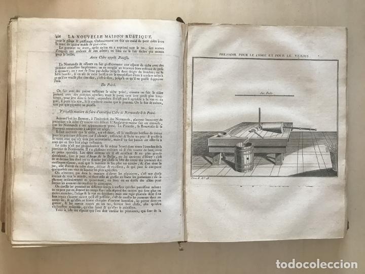 Libros antiguos: La nouvelle Maison rustique..., 2 tomos (IyII), 1790. L. Liger. Posee 41grabados y figuras - Foto 52 - 198399371